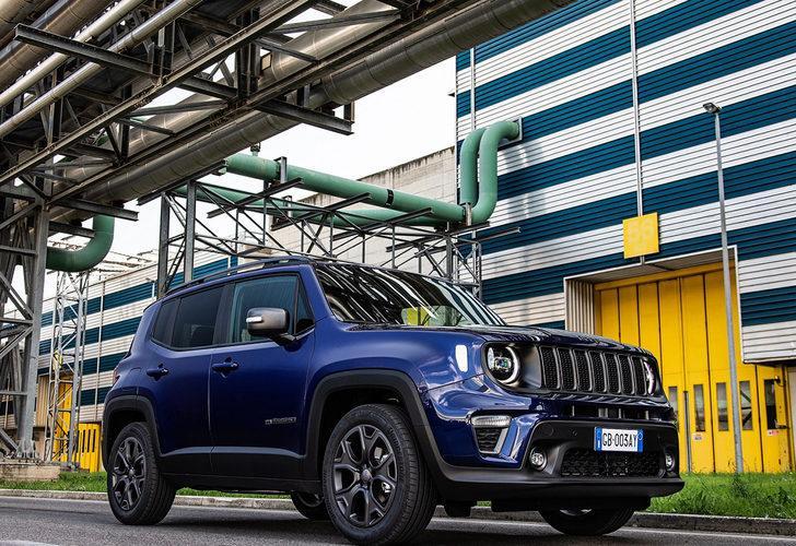 Jeep Renegade 80'inci yıl özel versiyonu Türkiye'de satışa sunuldu