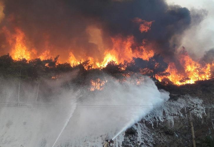 Marmaris yangınıyla ilgili yeni iddia: Yangını iki çocuk çıkardı