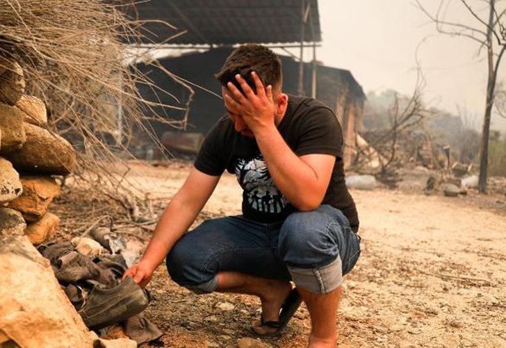 Manavgat'taki yangında hayatını kaybeden Kardaş çiftinin evinin kapıları kilitliymiş