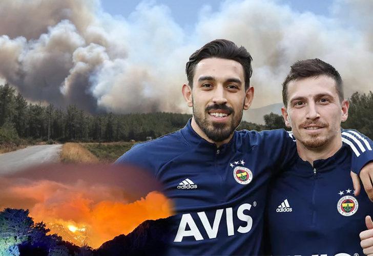 Türk futbolu orman yangınları için tek yürek! Kulüpler ve futbolculardan anlamlı kampanyalar...