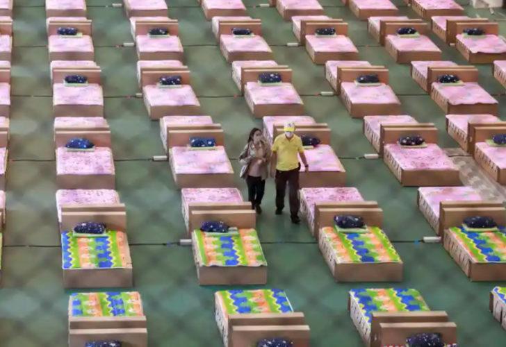 Tayland'da vaka artışı durmuyor! Hastanelerde yer kalmadı, havalimanı deposu hastaneye döndü