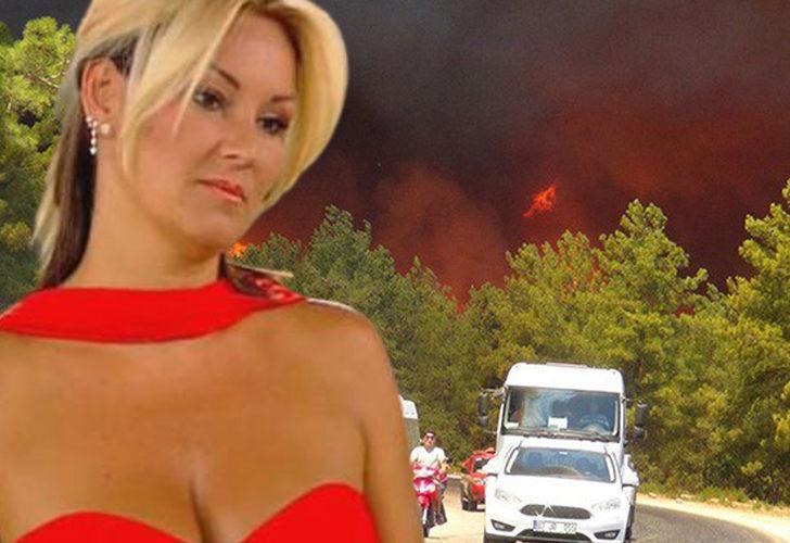 Pınar Altuğ yangın haberleri sonrası isyan etti: Siz güzel vakit geçiriyor olabilirsiniz