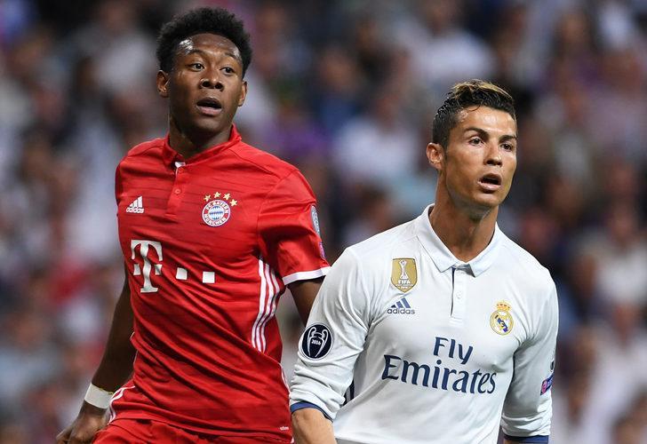 Real Madrid'den Alaba'ya 126 milyon euro!