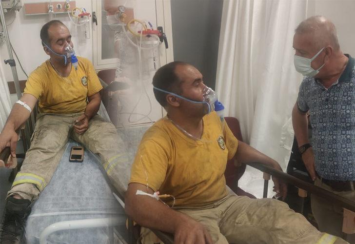 Mesai arkadaşının hayatını kaybettiğini bilmeyen yangın işçisinin sözleri kahretti