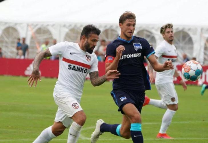 Gaziantep FK - Hertha Berlin maçı hava koşulları nedeniyle iptal edildi