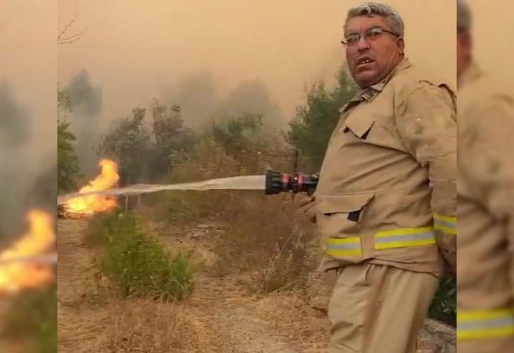Manavgat'taki yangında şehit olan orman işçisi Yaşar Cinbaş'ın son görüntüleri ortaya çıktı