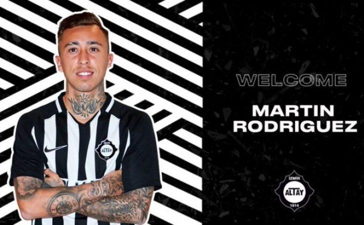 Altay'a Şili'den transfer: Martin Rodriguez