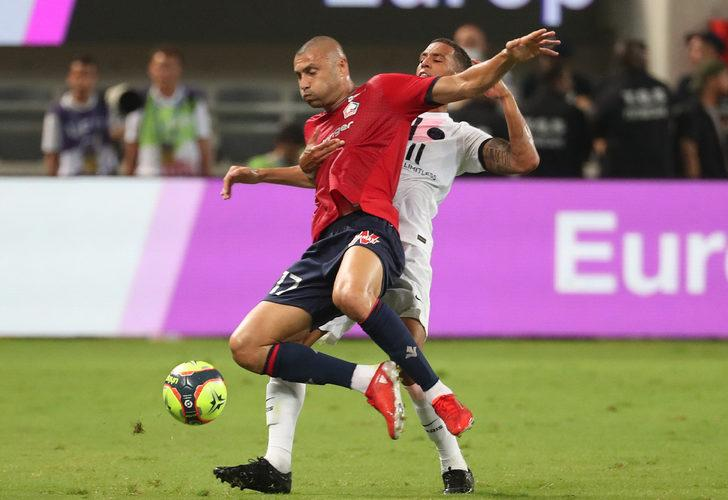 Lille 1-0 Paris Saint-Germain (Maç sonucu)