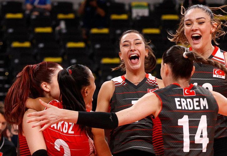 A Milli Kadın Voleybol Takımımız Güney Kore ile eşleşti!