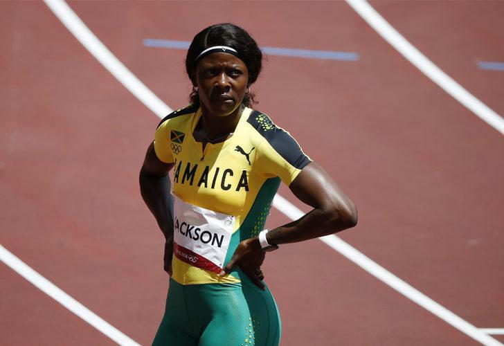 Shericka Jackson, yarışı kazandığını sanıp öyle bir şey yaptı ki...