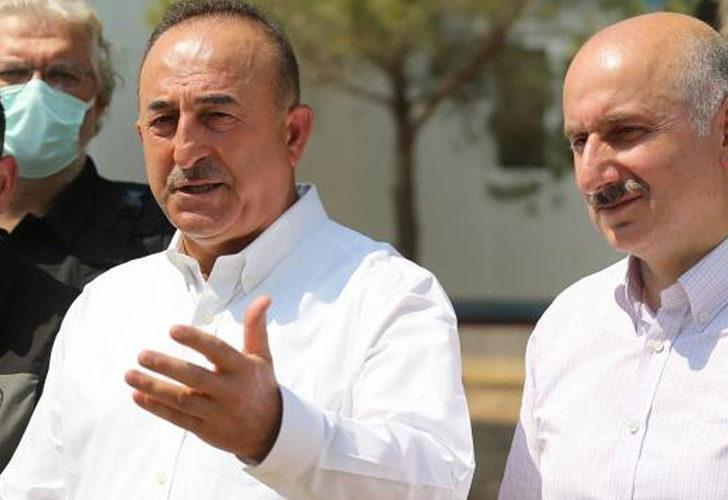 Bakan Çavuşoğlu'ndan 'helikopter göndermiyorlar' açıklaması