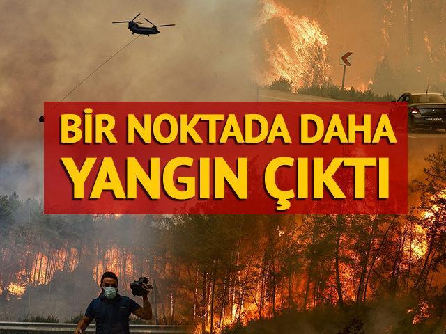 Bir yerde daha yangın çıktı