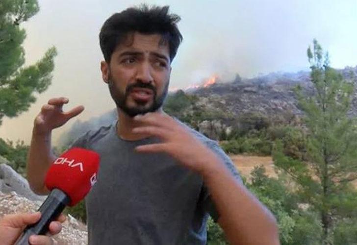 Manavgat'a giden Yusuf Güney orman memurları ile kavga edip havaya ateş açınca gözaltına alındı!