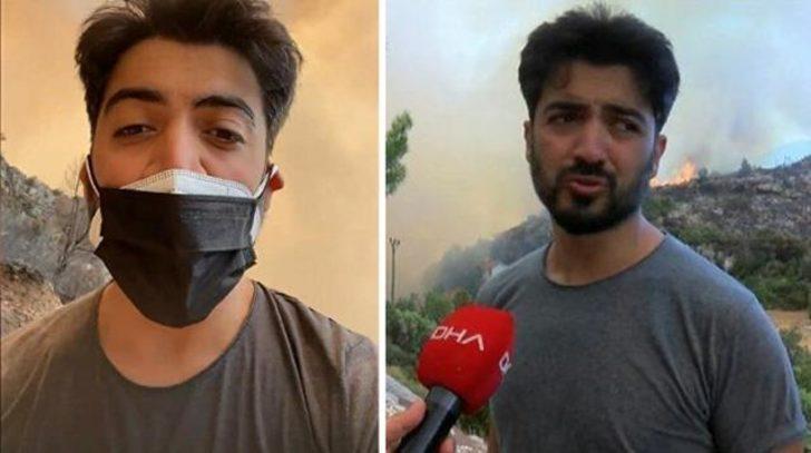 Manavgat'ta gözaltına alınan Yusuf Güney'den açıklama: 10 kişi sopalarla saldırdı