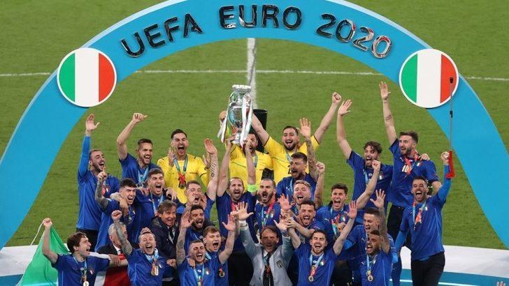 EURO 2020 finali: İtalya İngiltere'yi penaltılarda yenerek Avrupa Futbol Şampiyonu oldu