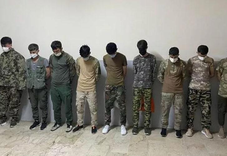 Zeytinburnu'nda asker kıyafetiyle dolaşan Afgan göçmenler yakalandı