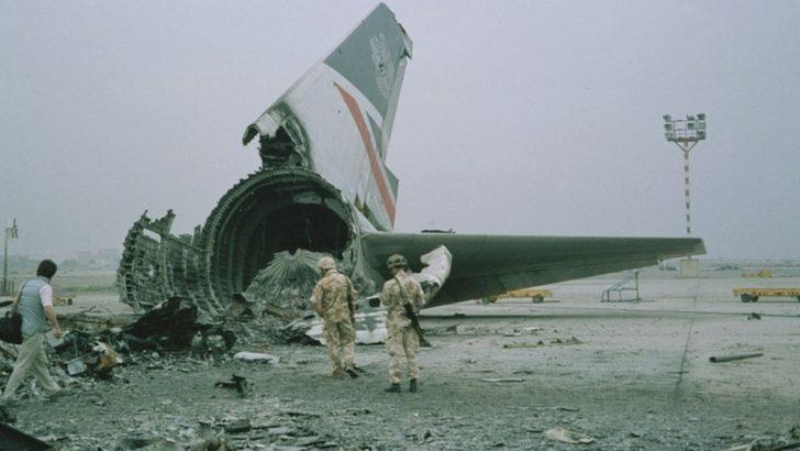 Irak Kuveyt'i işgal ederken, British Airways uçağı 'askeri istihbarat' için kullanıldı mı?