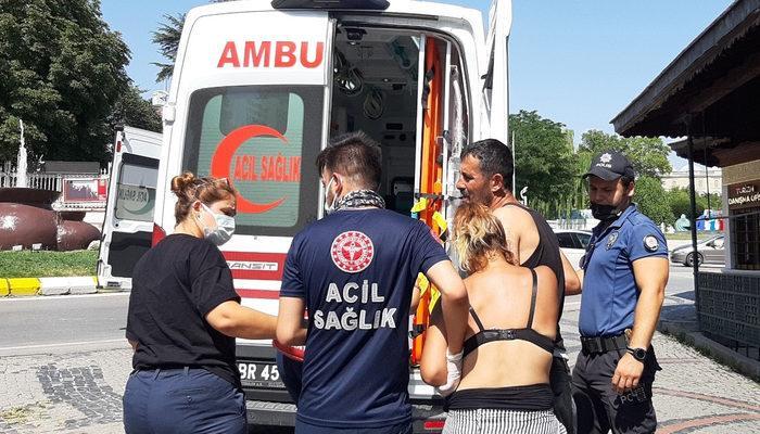 Edirne'de yaşlı adam parkta 2 kişiyi bıçakladı thumbnail