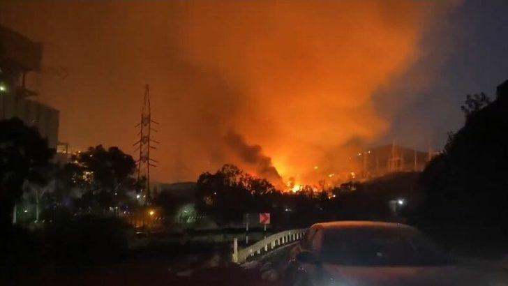 Termik santralde yangın: EÜAŞ Eski Genel Müdür Yardımcısı Başaran, ana kömür sahasının santrale 4-5 km mesafede bulunduğunu söyledi