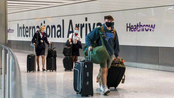 Türkiye, İngiltere'nin seyahat kısıtlamalarında yine kırmızı listede kaldı