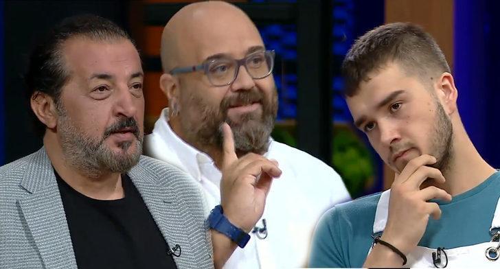 MasterChef Türkiye'de Fikret'in 'Galatasaray' maçı örneği Tunahan'ı kızdırdı: Burası yemek programı