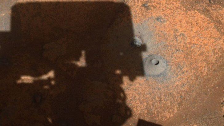 Mars: NASA'nın uzay aracı Perseverance'ın Kızıl Gezegen'de topladığı ilk kaya örneği kayıp