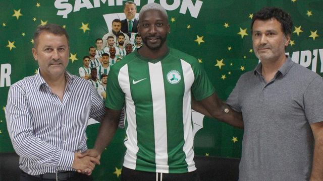 Giresunspor'da 2 yıllık anlaşma