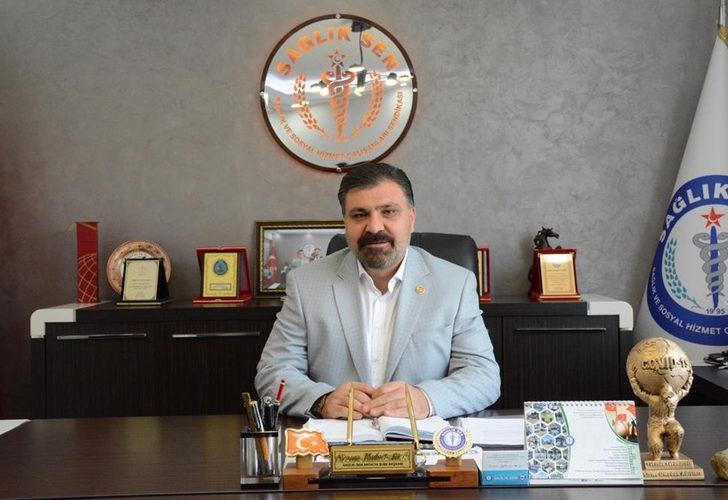 Antalya'daki sağlıkçılardan izinlerin kaldırılmasına tepki