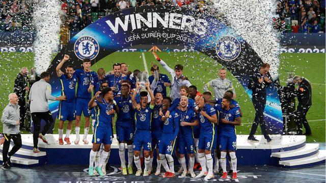 Chelsea, Villareal'i penaltılarda yenerek Süper Kupa'nın sahibi oldu