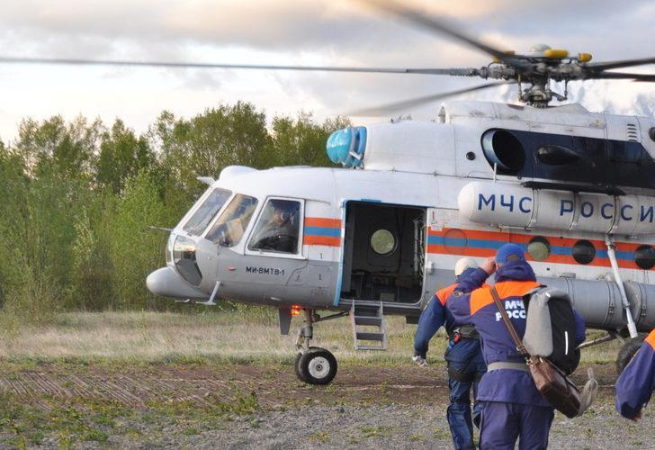 Son Dakika: Rusya'da helikopter düştü! Turistleri taşıyordu