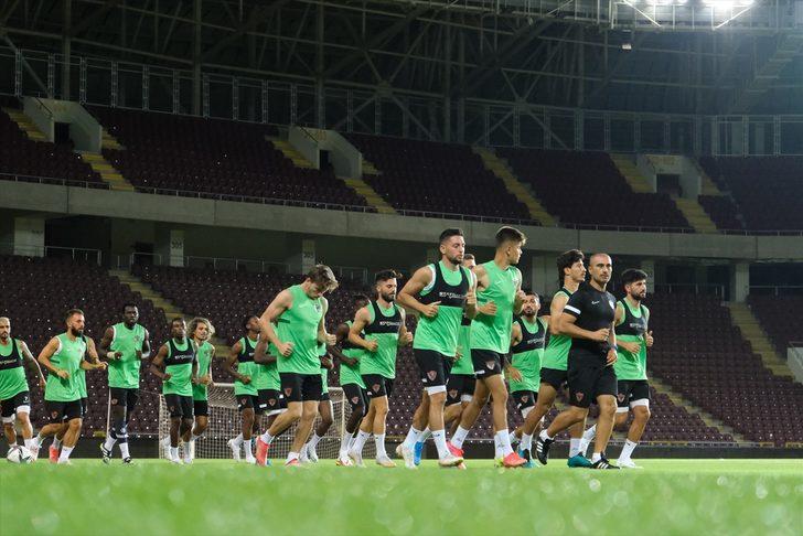 Hatayspor, Kasımpaşa maçı hazırlıklarına devam etti