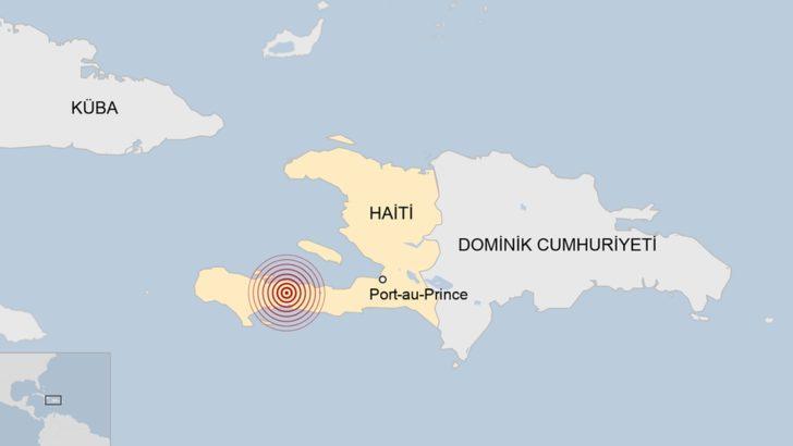 Haiti'de 7.2 büyüklüğünde deprem: Can kayıpları olduğu açıklandı