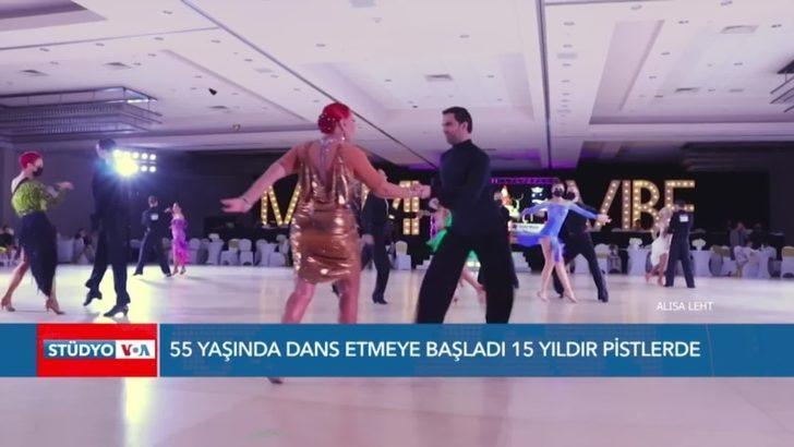 55 Yaşında Dansa Başladı 15 Yıldır Pistlerde