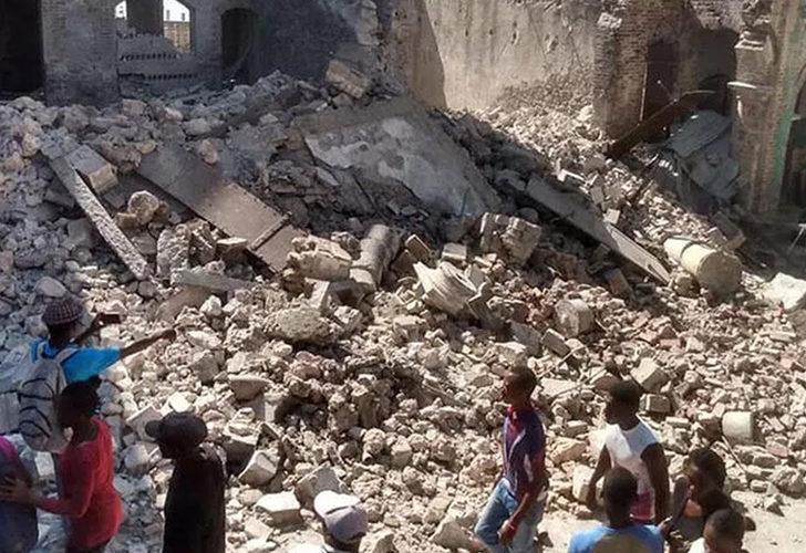 Haiti'deki depremde bilanço ağırlaşıyor: 724 ölü