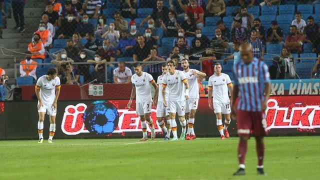Trabzonspor avantajı Roma'ya kaptırdı!