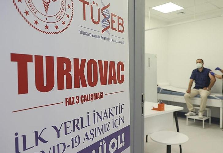 Turkovac aşısı faz 3 çalışmaları Erciyes Üniversitesi'nde uygulanmaya başlandı