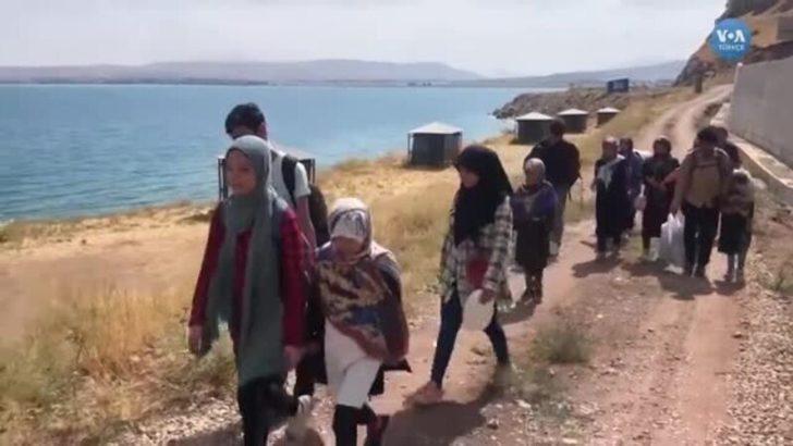 Türkiye'ye Giden Afgan Mültecilerin Umut Yolculuğu