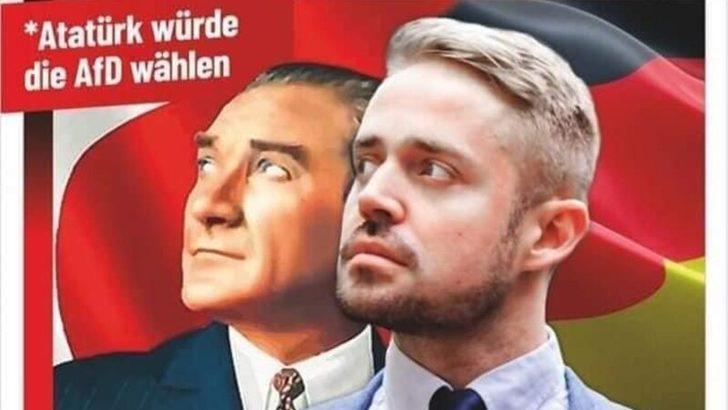 """Almanya'da """"Atatürk de AfD'ye Oy Verirdi"""" Sloganına Tepki"""