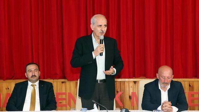 AK Parti Genel Başkanvekili Kurtulmuş, Artvin'de parti yöneticileriyle bir araya geldi: