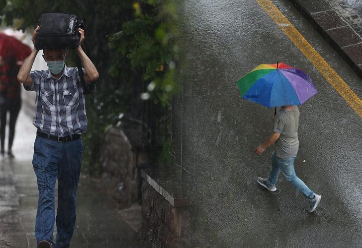 Meteoroloji'den kuvvetli yağış uyarısı! Bu bölgelerde yaşayanlar dikkat (29 Ağustos yurtta hava durumu)