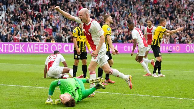 Beşiktaş'ın rakibi Ajax'tan flaş skor!