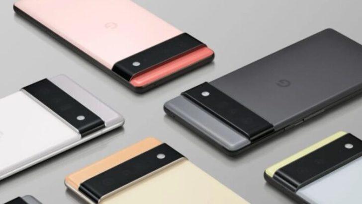 Google, Pixel 6 ve Pixel 6 Pro akıllı telefonlarınıtanıttı