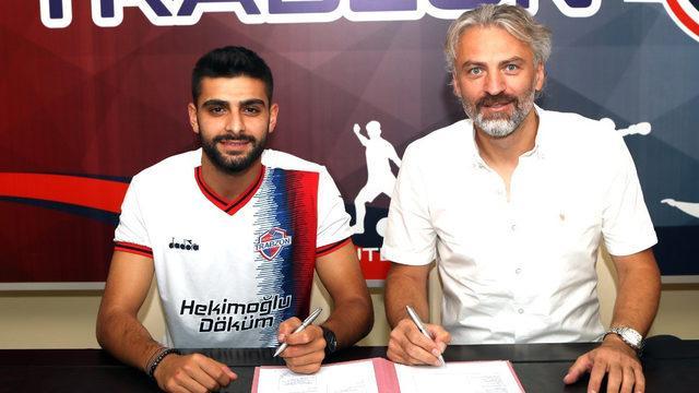 Hekimoğlu Trabzon FK'da yeni imza