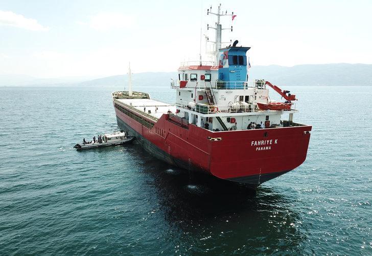 Körfez açıklarındaki gemide pozitif vakalar çıktı, mürettebat karantinaya alındı