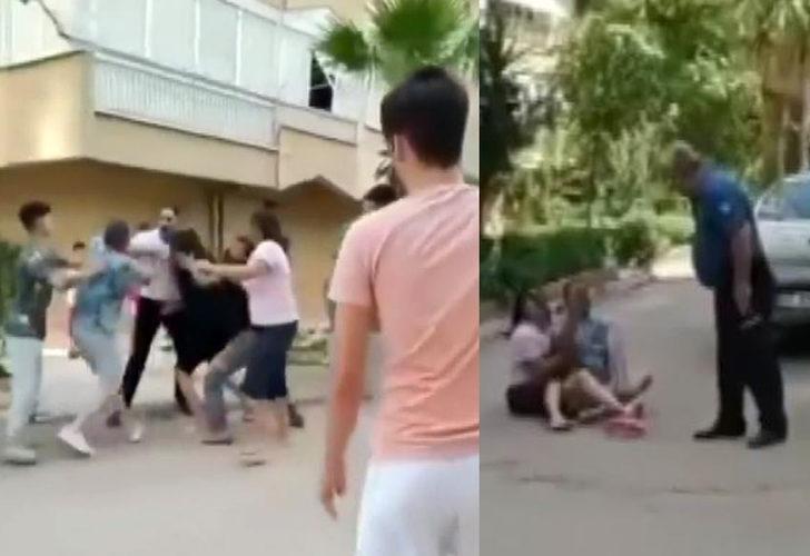 Antalya'da taşlı sopalı kavga! Polis havaya ateş açtı