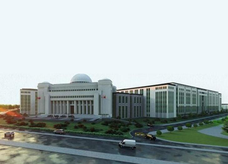 Cumhurbaşkanı Erdoğan paylaştı! İşte yeni Yargıtay binası