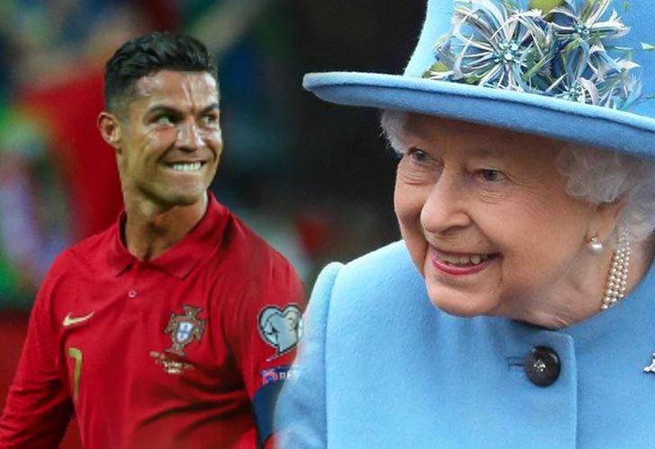 Kraliçe Elizabeth, Cristiano Ronaldo'dan imzalı forma istedi