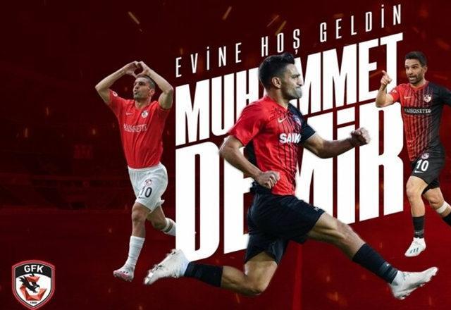 Muhammet Demir, Gaziantep FK'ya döndü