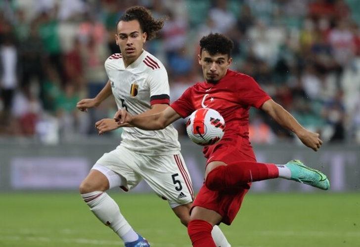 Türkiye 0-3 Belçika (Maç sonucu)