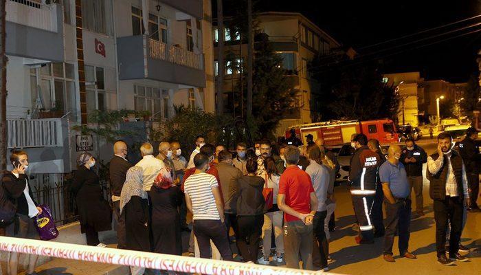 Başkentte ekipler harekete geçti! Bina boşaltıldı